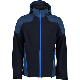 Icepeak Bendon Chaqueta Softshell Hombre, dark blue